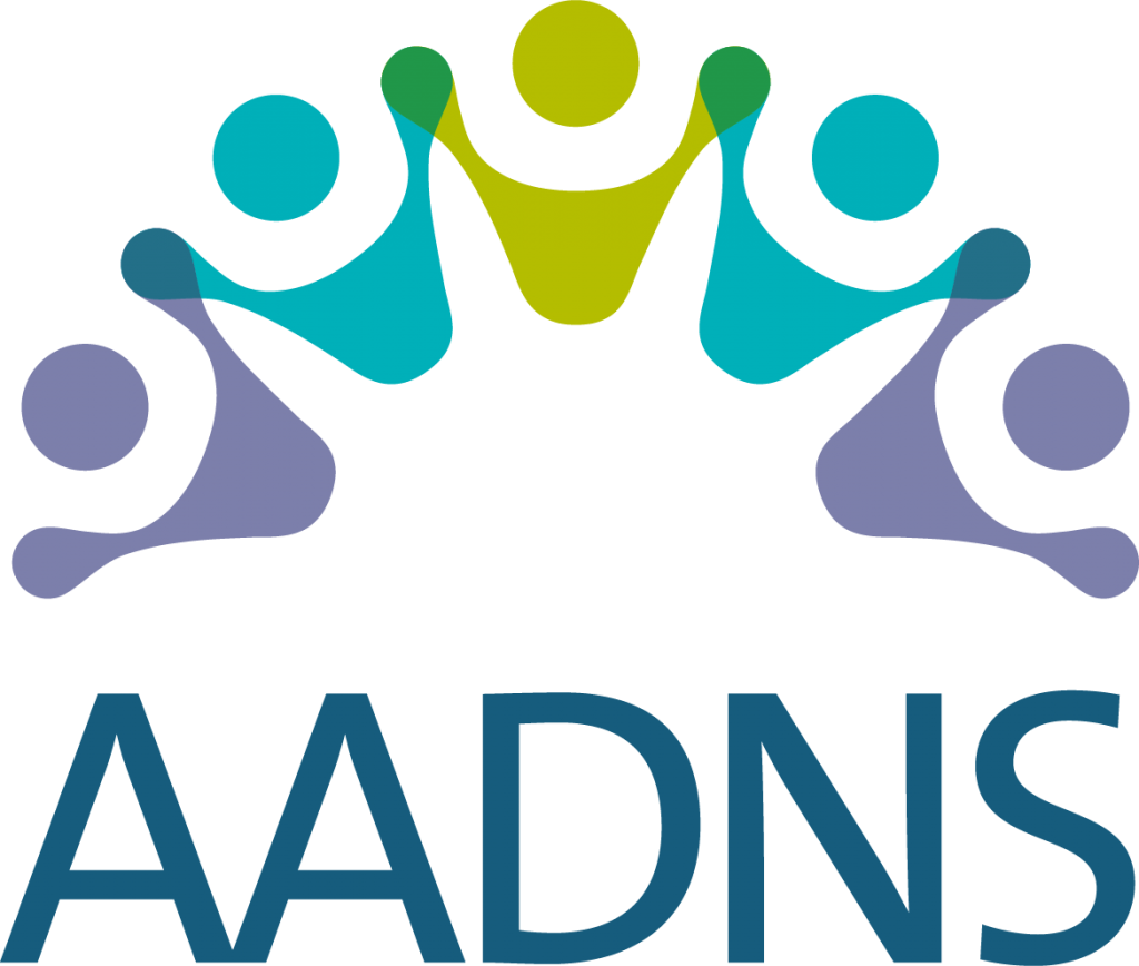 Image of the AADNS logo