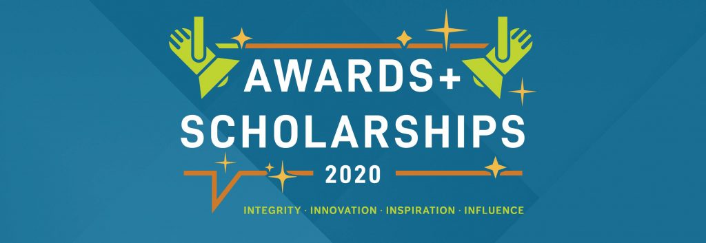 Spot light graphic on the AAPACN 2020 Awards and Scholarhips