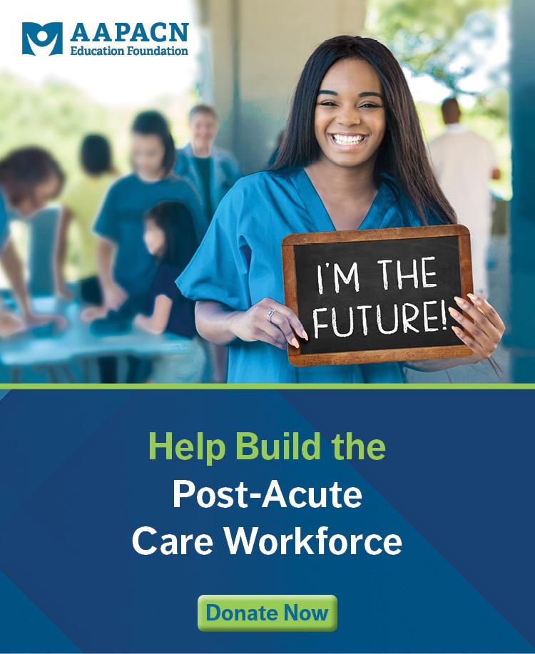 LTPAC nurse AAPACN Education Foundation scholarship recipient going back to school